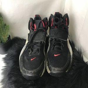 Nike Air Bo 1 Black White Atomic Red 705069-001